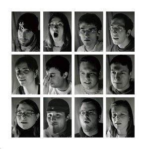 imagen de caras
